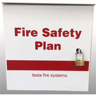 Fire Safety Plan Boxes Tesla Fire Systems